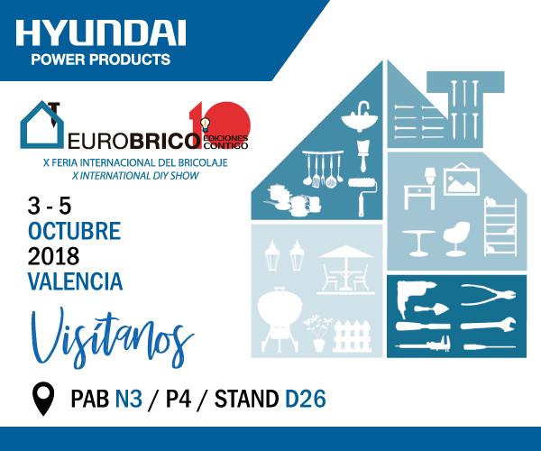 HyundaiPower estará el próximo octubre en la feria EuroBrico de Valencia